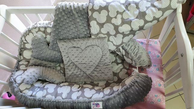 Nowy zestaw 4 elementy, kokon motylek, poduszka, kołderka komis Maja