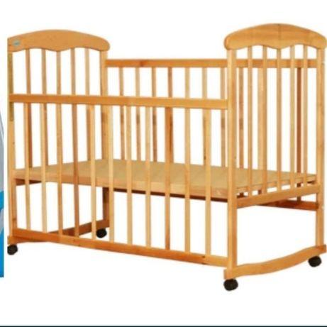 Детская кровать Наталка + стульчик для кормления Chicco Polly +ПОДАРОК