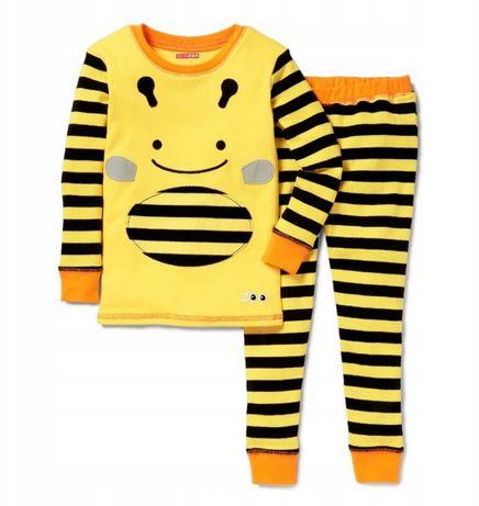 Piżama skip hop 110 pszczoła pszczółka nowa paski 2 częściowa