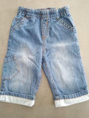 Spodenki jeansowe 6-9 miesięcy