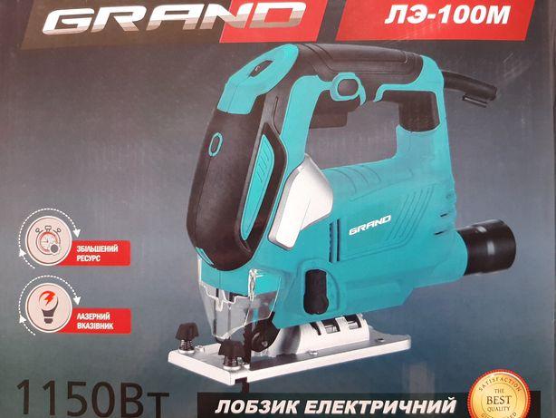 Лобзик ручной электрический GRAND ЛЭ-100М Чехия.