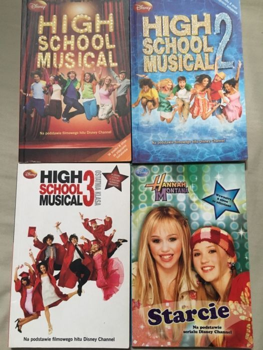 Książki high school musical i hannah Montana Radom - image 1