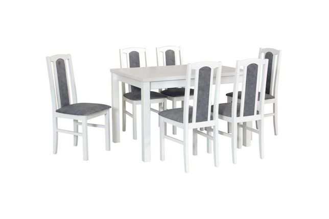 Zestaw stół + 6 krzeseł-Dostawa Gratis