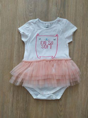 Платье бодик с юбкой нарядный на девочку 1 год lc waikiki