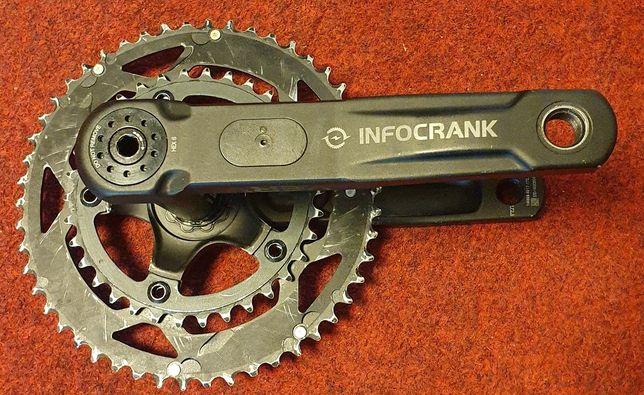 Pomiar mocy dwustronny Verve Infocrank triathlon,szosa,korba 172.5mm