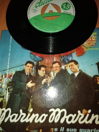 2 Discos 45 rpm Capricciosa e Honeymoon de Marino Marini