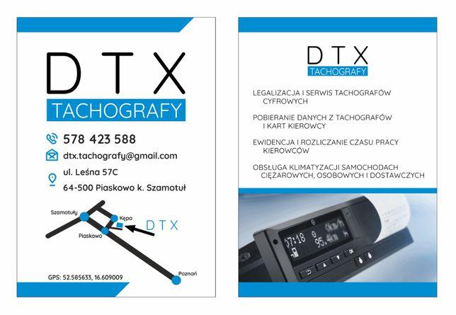 Tachografy Cyfrowe DTX