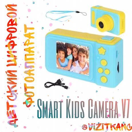 ПОДАРОК Детский цифровой фотоаппарат ОРИГИНАЛ Smart Kids Camera V7