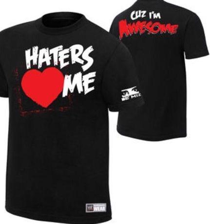 WWE The Miz Haters Love Me shirt