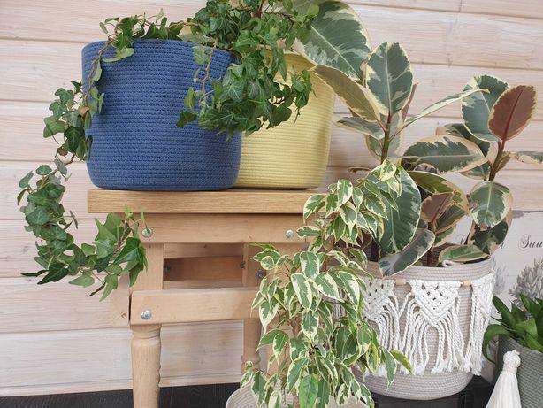 Корзинки из хлопка интерьерные корзинки для цветов, хранения