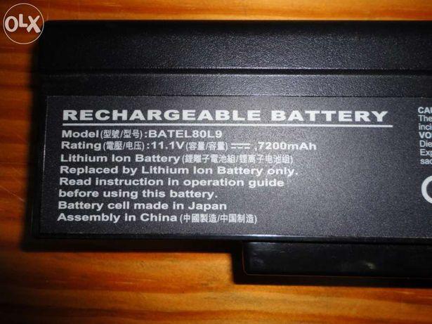 Bateria portátil Toshiba / hp alta capacidade 9 celulas