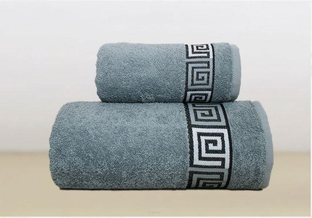 Ręczniki Greno Frotex Dunaj 50x90 70X140 biały szary