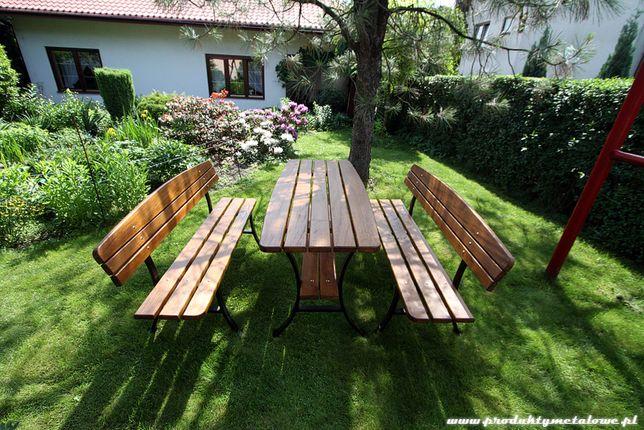 Metalowe nogi do ławki oraz stolika. Ławka z oparciem lub bez LEKKIE