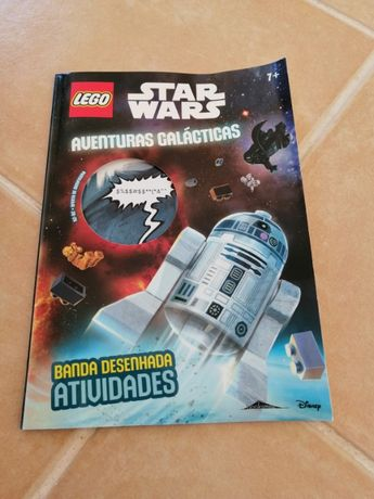 Revista lego star wars (sem figura). Portes incluídos ctt normal
