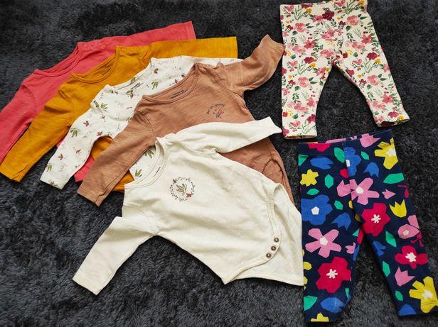 Zestaw body spodnie zestaw na święta otulacz paka ciuszków