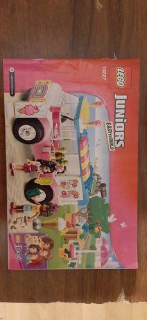 Лего 10727 Juniors. Грузовик с мороженым Эммы. Оригинал.