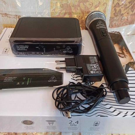 Радиомикрофон цифровой 2,4 ГГц BEHRINGER ULM300M Гарантийный