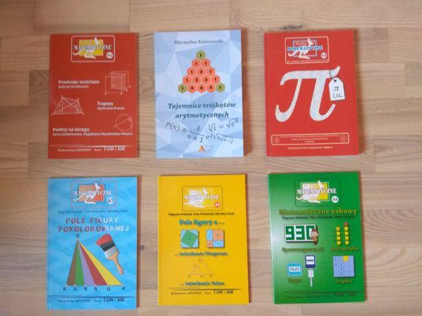 Zestaw Książek Matematycznych | DARMOWA DOSTAWA