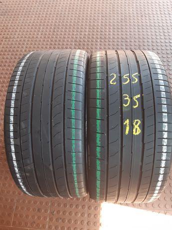 255/35r18 Continental e Bridgestone