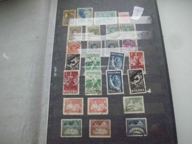 Zamienię znaczki polskie w klaserze 600 szt