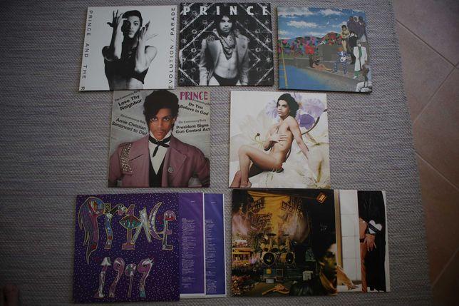 Vinyl Prince - varios albuns