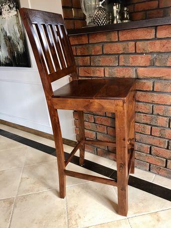 Krzesło barowe kolonialne