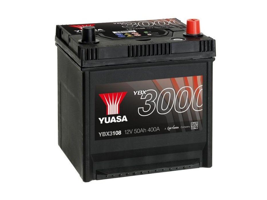 Akumulator YUASA YBX3108 50Ah 400A Promocja!!!