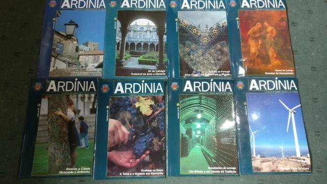 Lote 8 revistas Ardina - Lamego - de 1998 a 2000