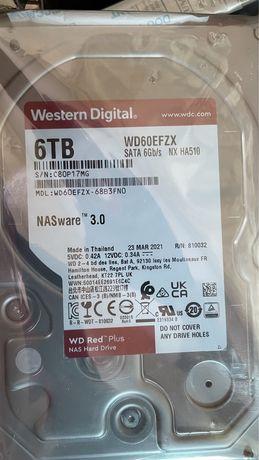 диск 6TB RED western Digital