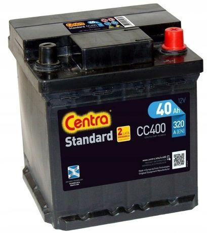 Akumulator Centra Standard CC400 40Ah 320A P+ Kraków EC400