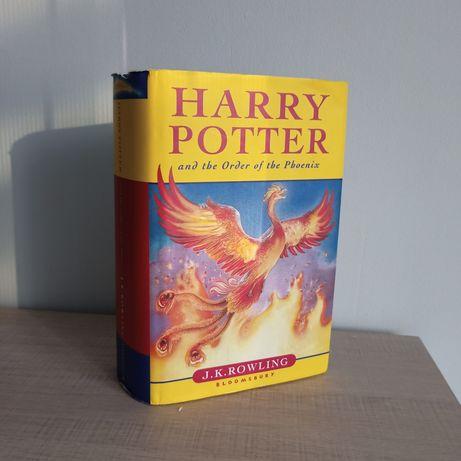 Harry Potter Order of the Phoenix J.K. Rowling Zakon Feniksa ang eng