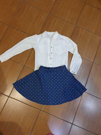 Zestaw spódniczka + koszula Smyk