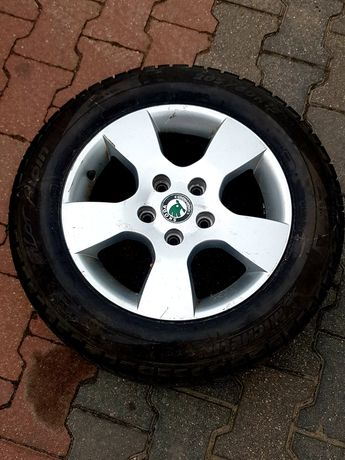 Koło Alufelga Skoda Volkswagen - Zapasówka Ronaln Oryginał 5x112
