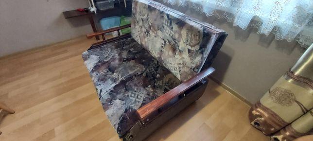 Amerykanka, sofa, kanapa 2 osobowa z funkcją spania i poj na pościel