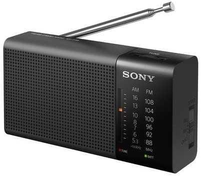 Sony ICF-P36 - Rádio portátil com alto-falante e sintonizador AM / FM