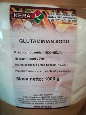 Glutaminian sodu