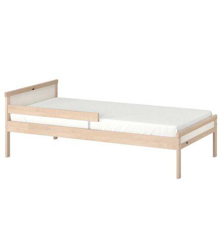Łóżko dzieciece Ikea sniglar + materac Underig