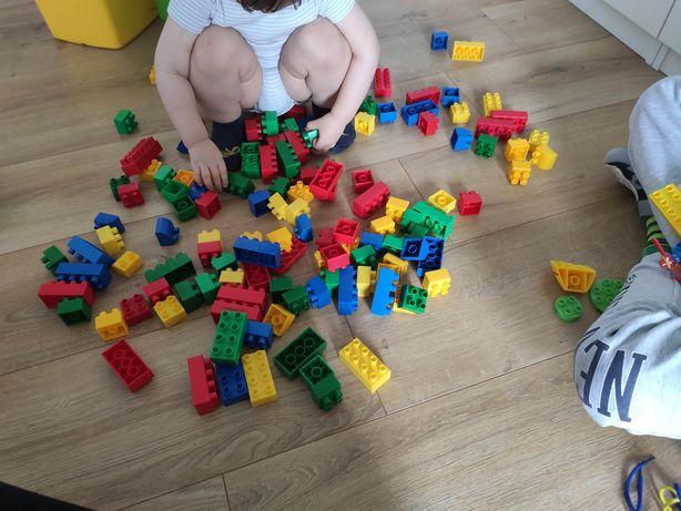 Worek klocków mega bloks jak LEGO Duplo
