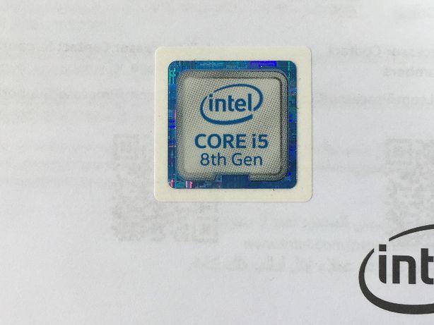 Наклейка Intel Core i5 8 -го Gen оригинал