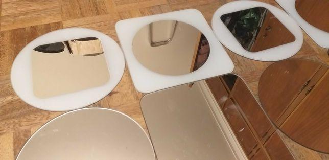 16 Espelhos Geométricos Ikea