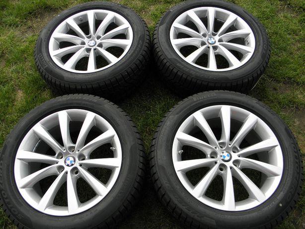 Felgi Koła zimowe 18 BMW 5 G30 G31 7 G11 G12 5x112 ET30 Opony Pirelli