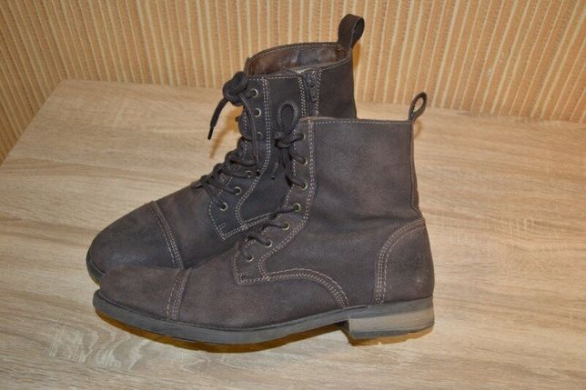 Buffalo Мужские утепленные ботинки деми Р. 44 - 30,5/31 см.