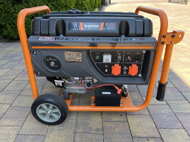 Agregat prądotwórcz Tresnar 7130 5,5kW nowy!