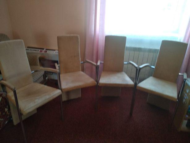 Чотири шкіряні крісла з Німеччини!