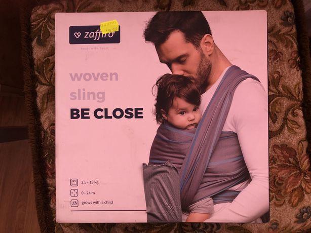 Chusta Zaffiro be close , chusta do noszenia dziecka