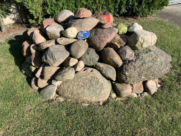 Kamienie polne różne wielkosci