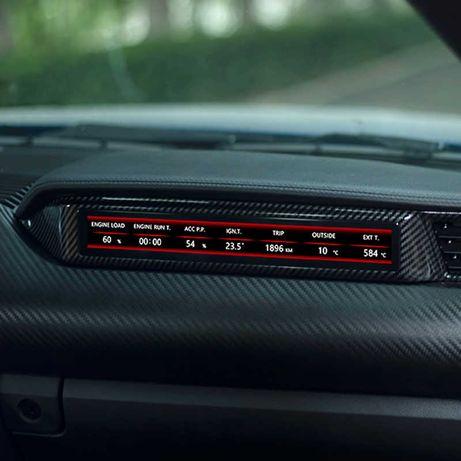 Экран пассажира Ford Mustang Copilot Racing Meter LCD Display Новый