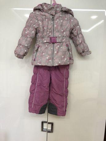 Зимний костюм комбинезон  с рукавицами chicco reima смик