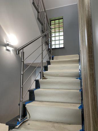 Balustrada nierdzewna barierka balustrady balkon schody