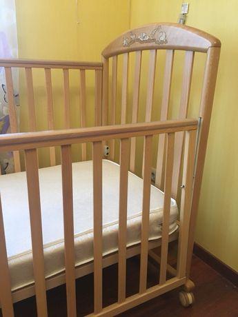 Лучшая детская кроватка Pali zoo c матрасом Италия
